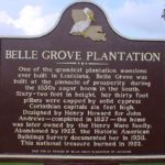 belle grove historical marker