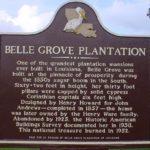 belle grove historical marker